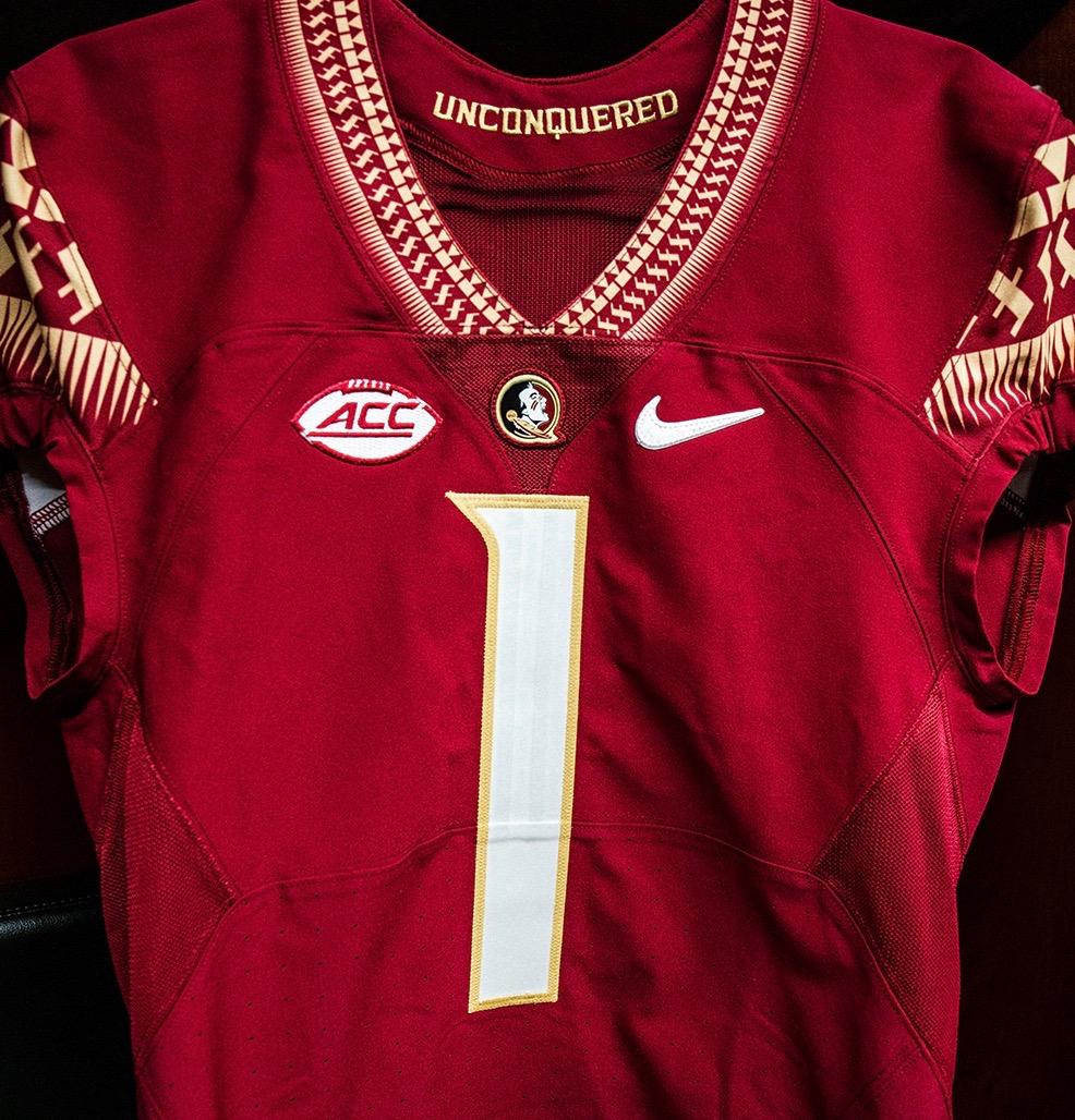 Closer look: FSU's change to white numerals on garnet jerseys ...